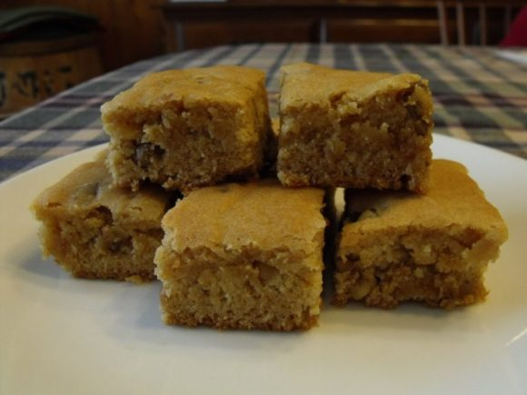 Cornect Family Farm - Honey Butterscotch Brownies