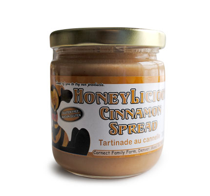 Cornect Family Farm - Cinnamon Honey Spread